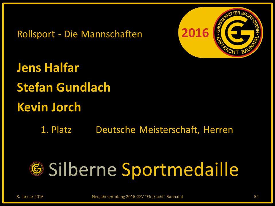 Rollsport - Die Mannschaften