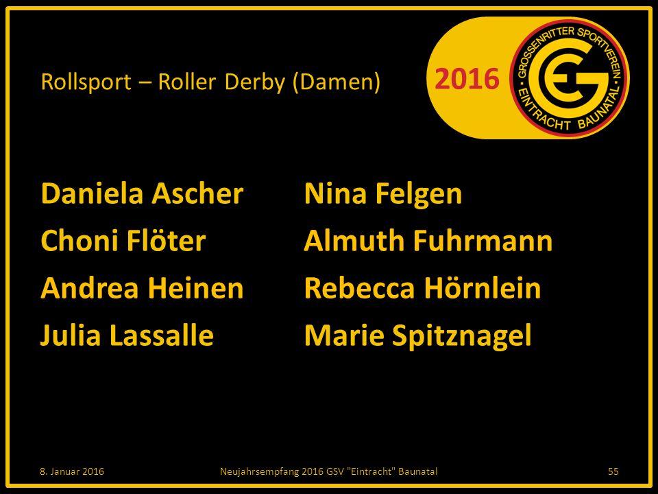 Rollsport – Roller Derby (Damen)