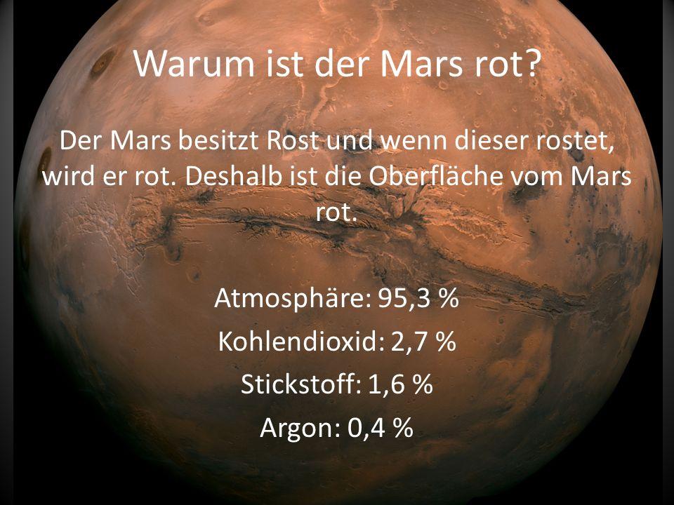Warum ist der Mars rot