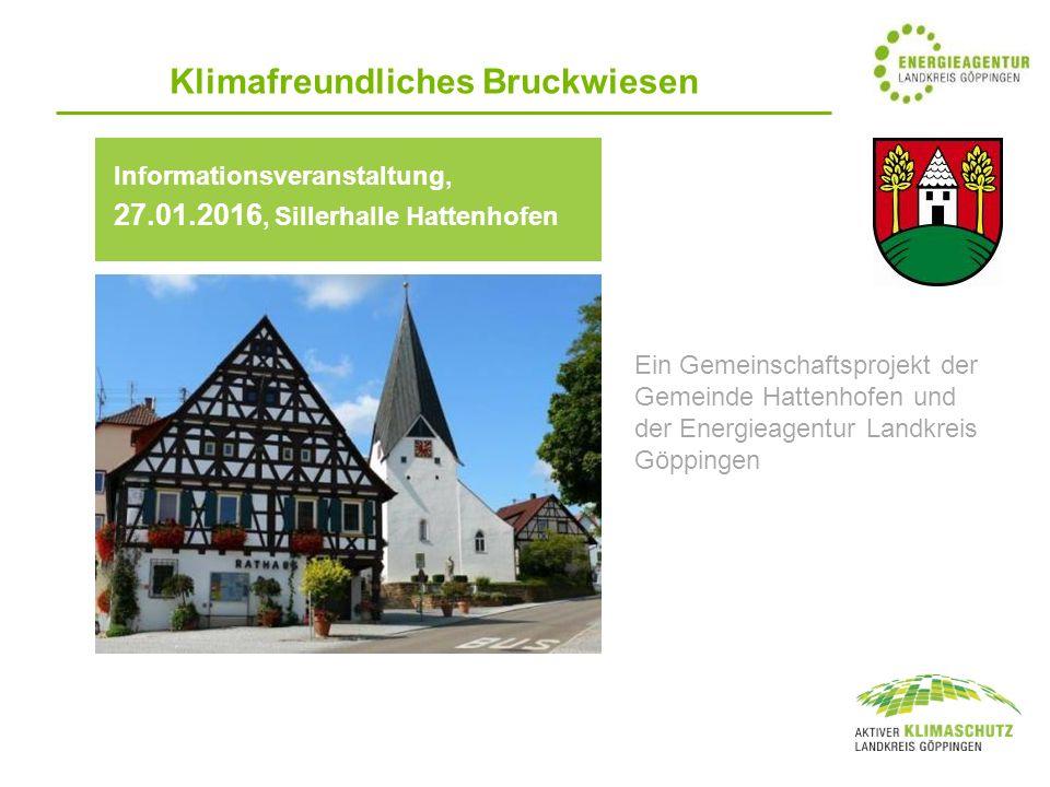 Klimafreundliches Bruckwiesen