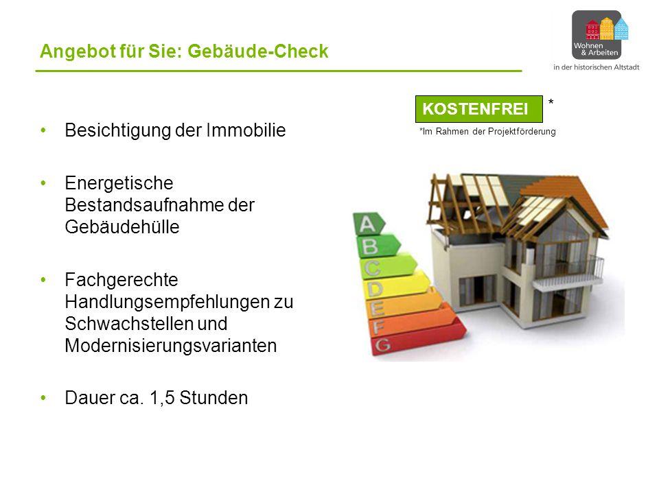 Angebot für Sie: Gebäude-Check