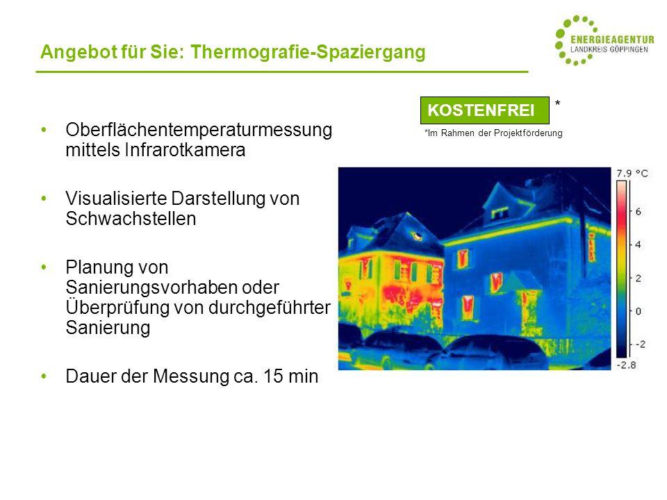 Angebot für Sie: Thermografie-Spaziergang
