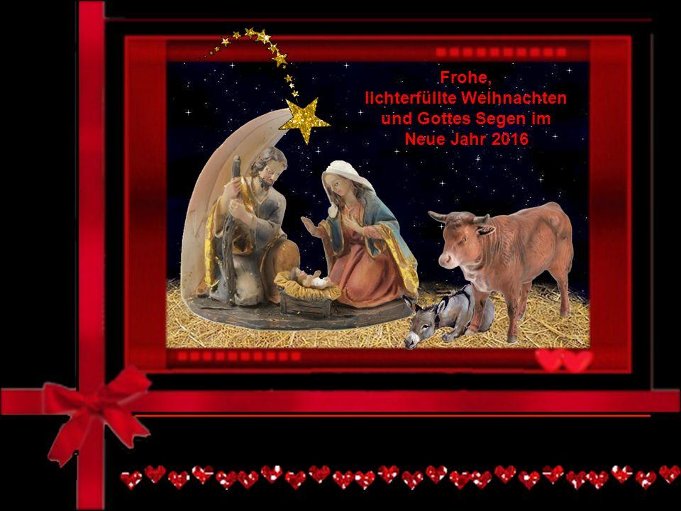 lichterfüllte Weihnachten