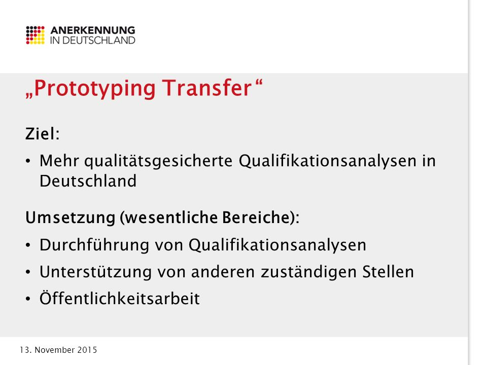 """Prototyping Transfer"