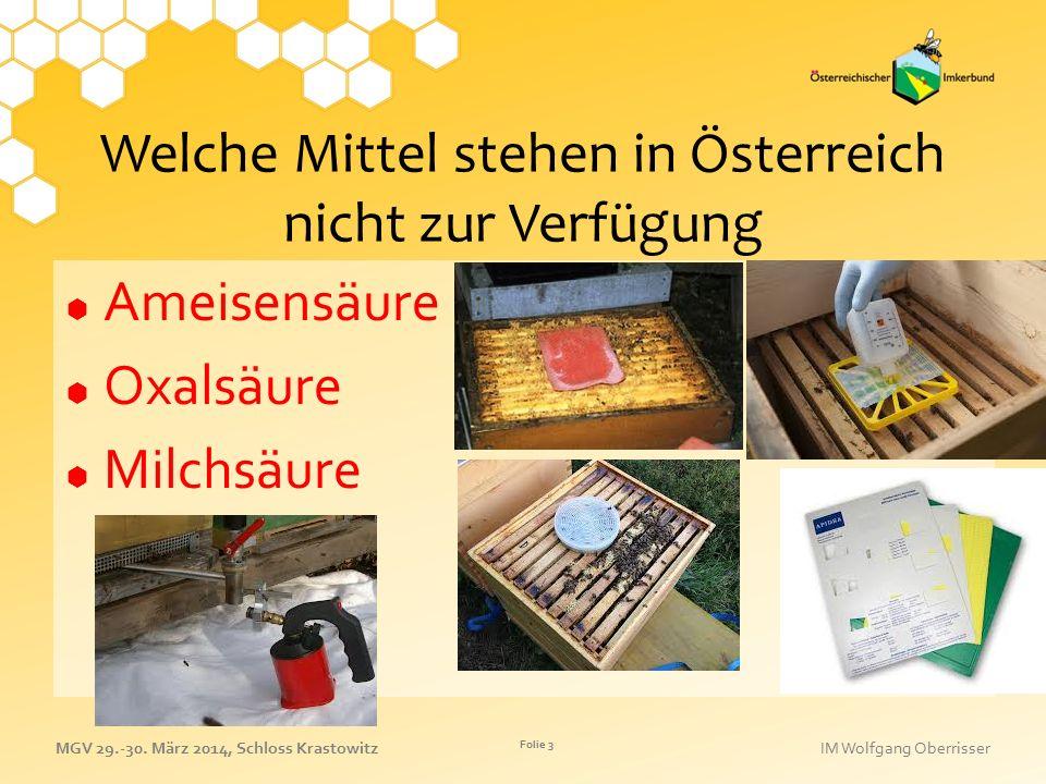 Welche Mittel stehen in Österreich nicht zur Verfügung