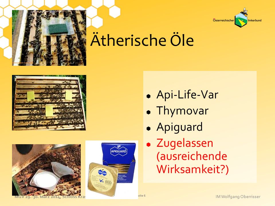Ätherische Öle Api-Life-Var Thymovar Apiguard