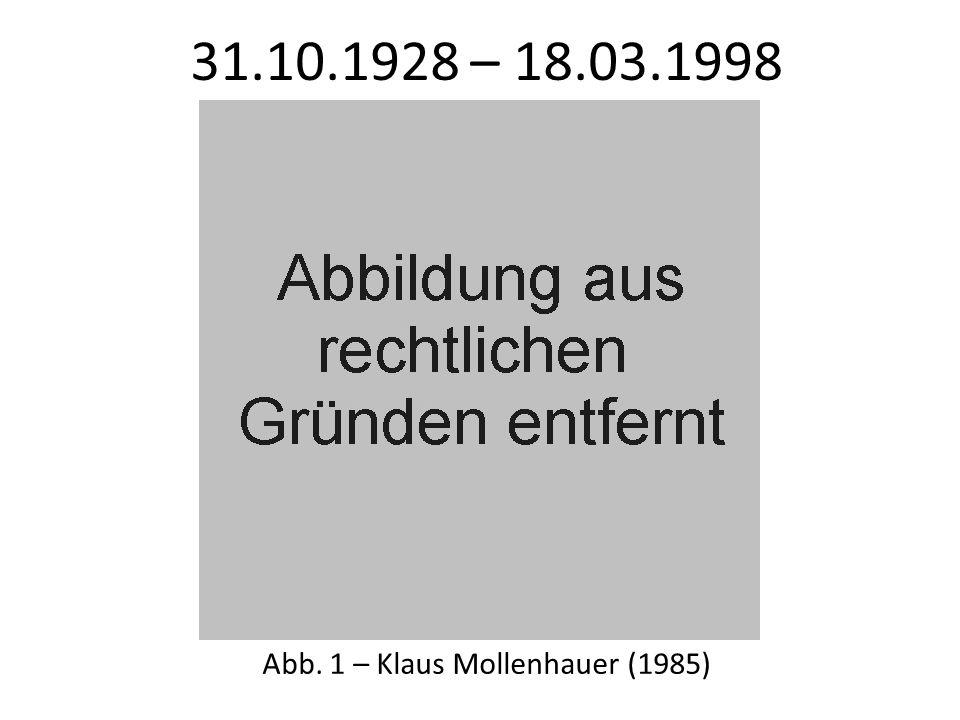 Abb. 1 – Klaus Mollenhauer (1985)