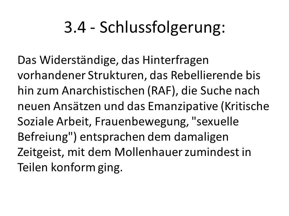 3.4 - Schlussfolgerung: