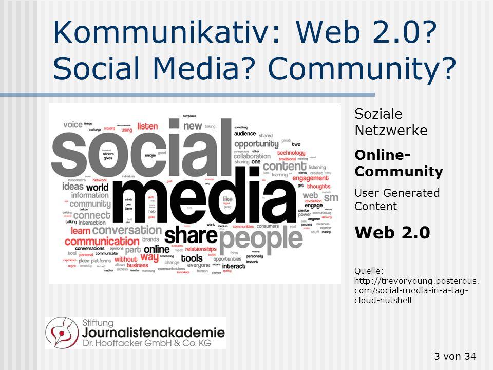 Kommunikativ: Web 2.0 Social Media Community