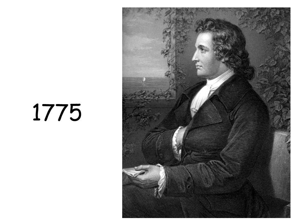 1775 Goethe in 1775