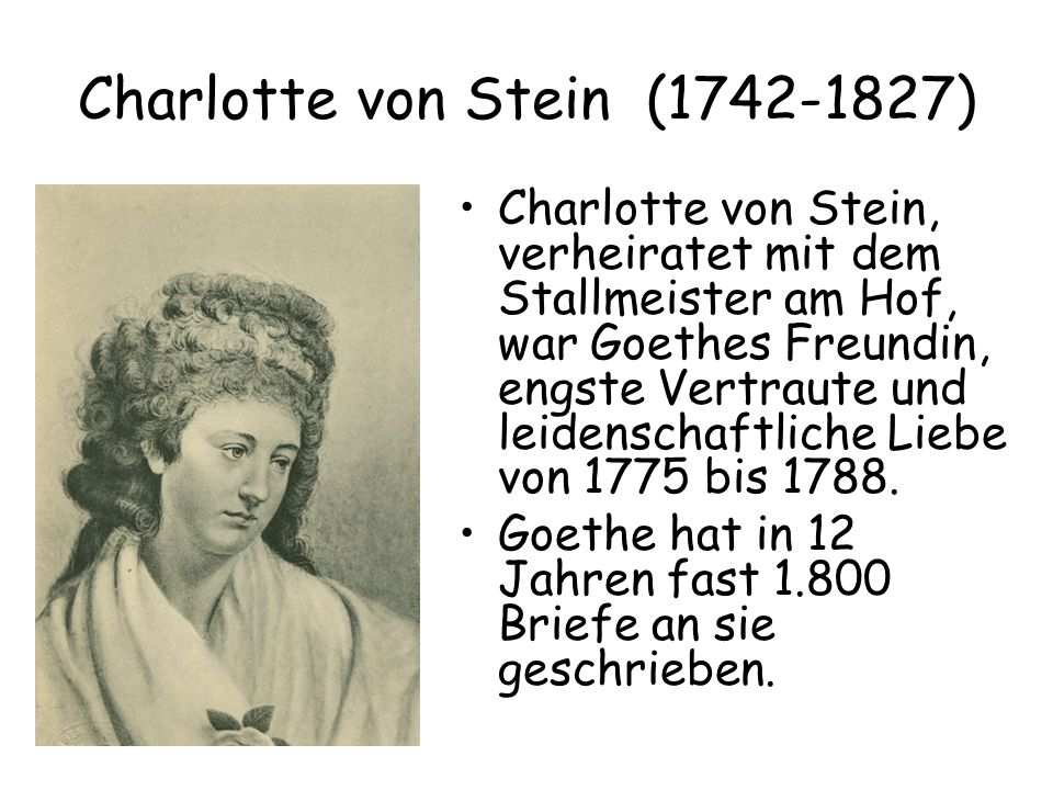 Charlotte von Stein (1742-1827)