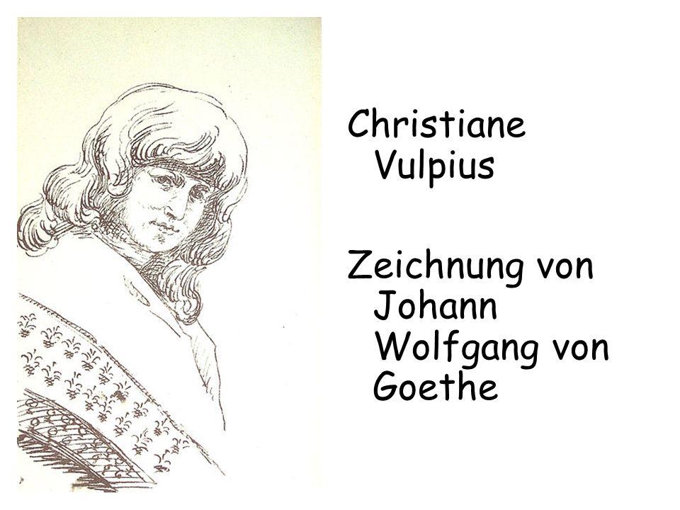 Zeichnung von Johann Wolfgang von Goethe