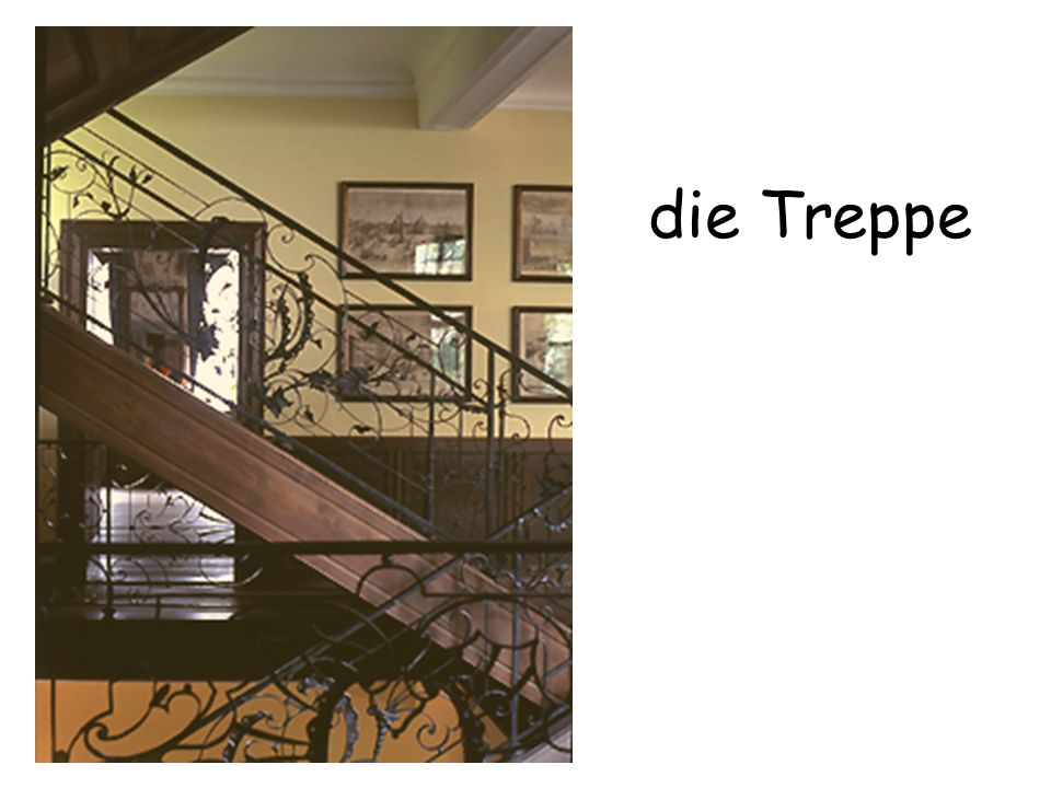 die Treppe The staircase