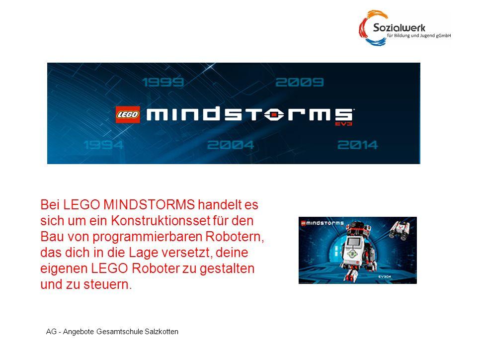 Bei LEGO MINDSTORMS handelt es sich um ein Konstruktionsset für den Bau von programmierbaren Robotern, das dich in die Lage versetzt, deine eigenen LEGO Roboter zu gestalten und zu steuern.