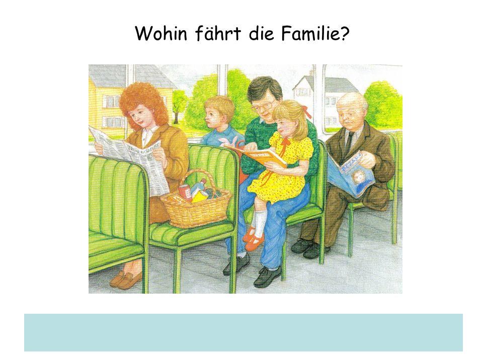 Wohin fährt die Familie