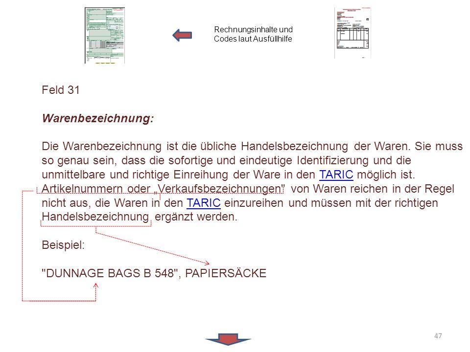 DUNNAGE BAGS B 548 , PAPIERSÄCKE