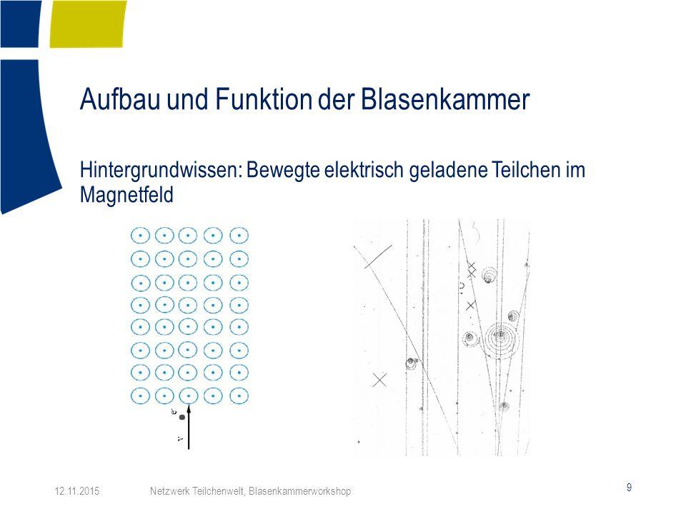 Aufbau und Funktion der Blasenkammer