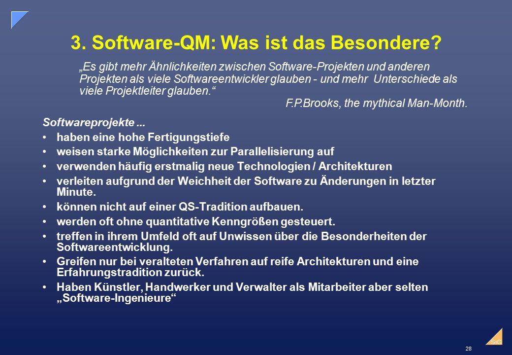 3. Software-QM: Was ist das Besondere