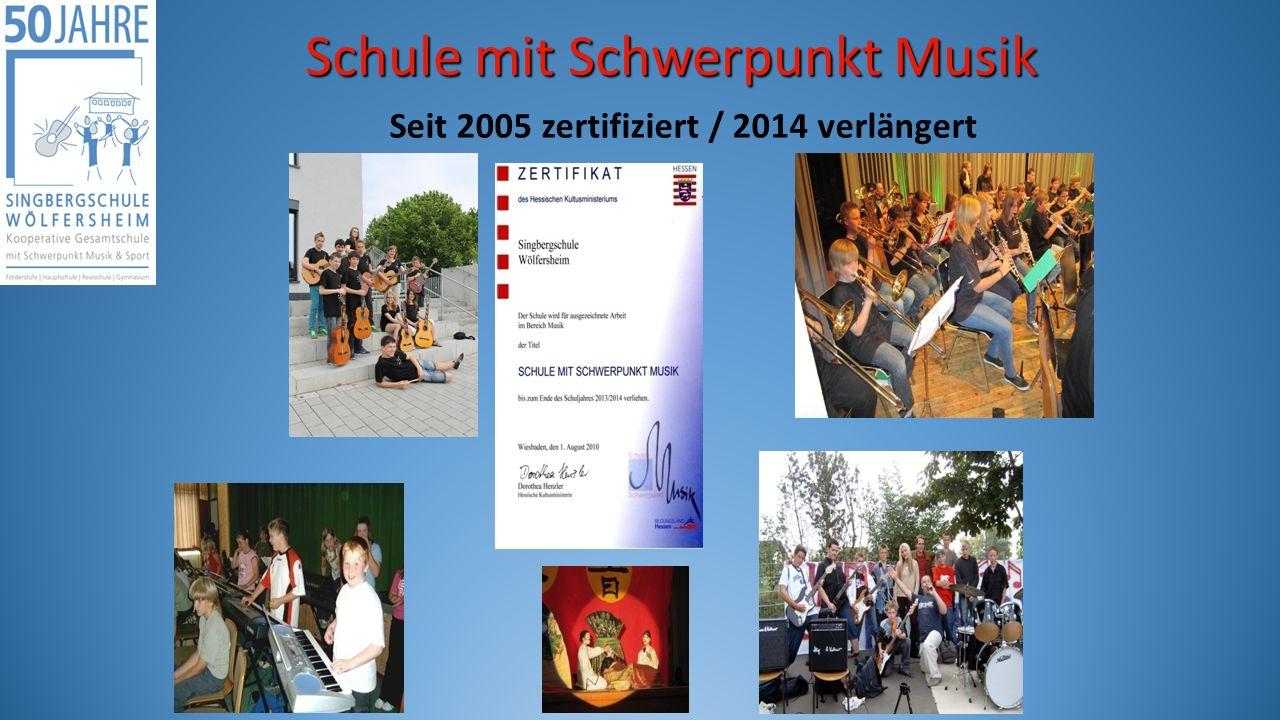 Seit 2005 zertifiziert / 2014 verlängert