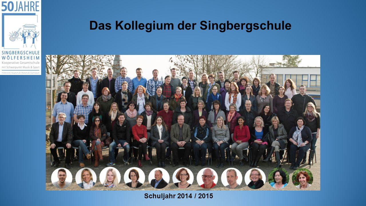 Das Kollegium der Singbergschule