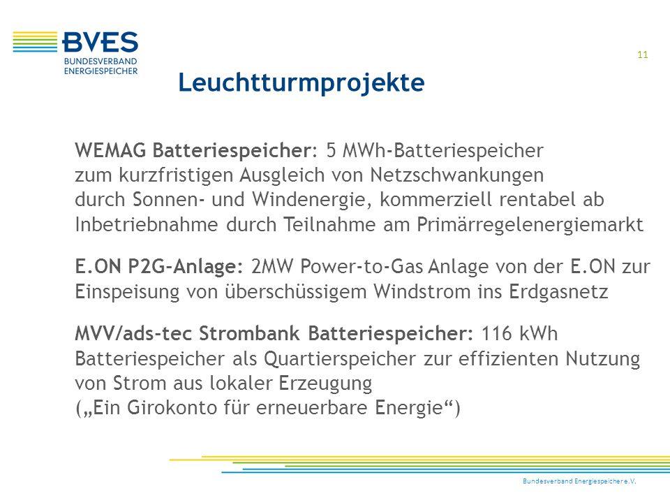Leuchtturmprojekte WEMAG Batteriespeicher: 5 MWh-Batteriespeicher