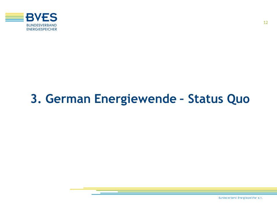 3. German Energiewende – Status Quo