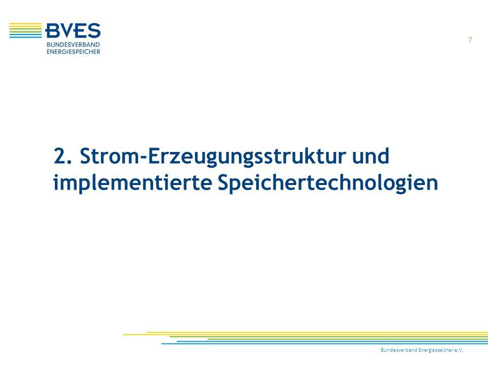 2. Strom-Erzeugungsstruktur und implementierte Speichertechnologien