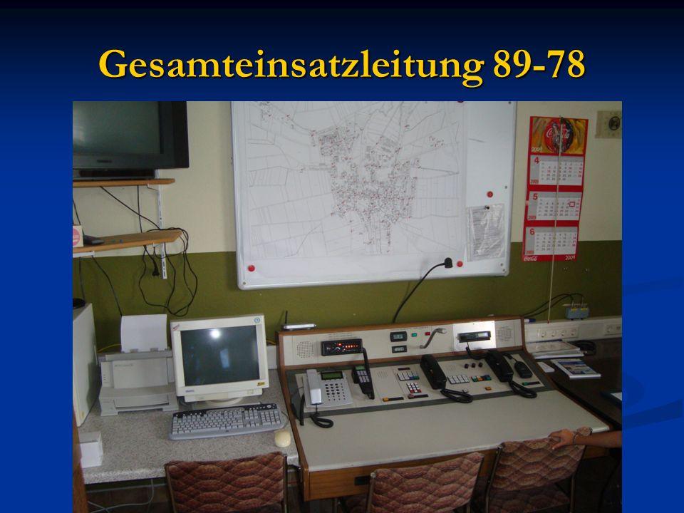 Gesamteinsatzleitung 89-78