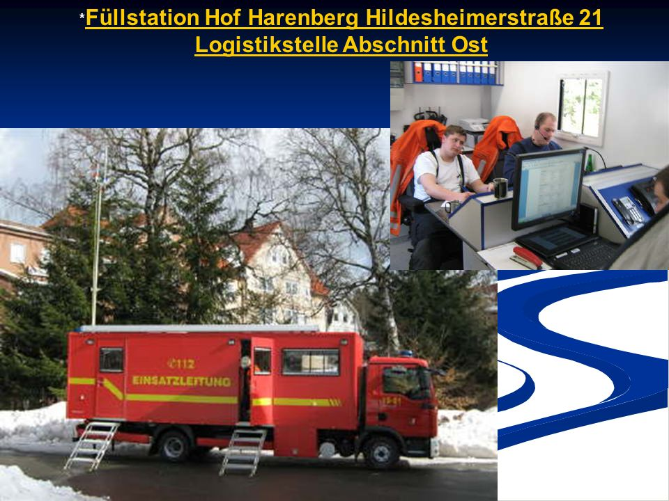 *Füllstation Hof Harenberg Hildesheimerstraße 21 Logistikstelle Abschnitt Ost