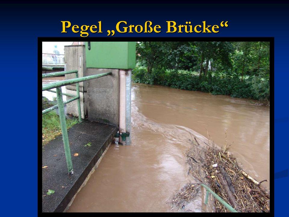 """Pegel """"Große Brücke"""