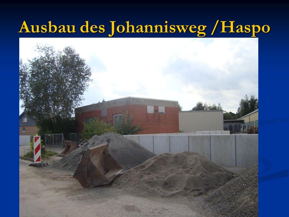 Ausbau des Johannisweg /Haspo