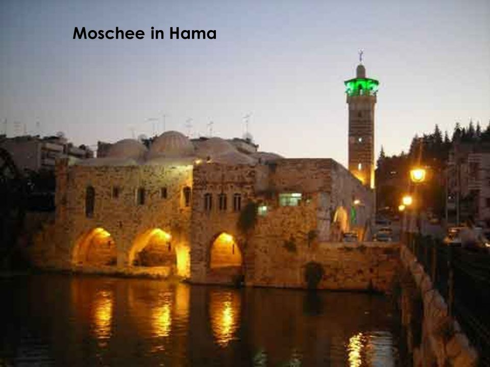 Moschee in Hama