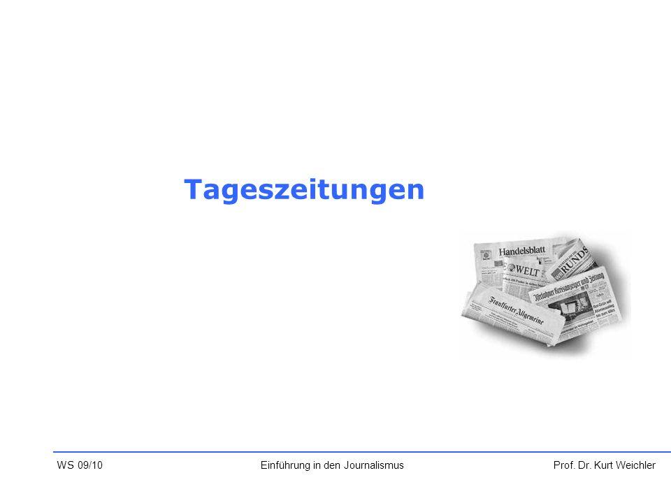 Einführung in den Journalismus