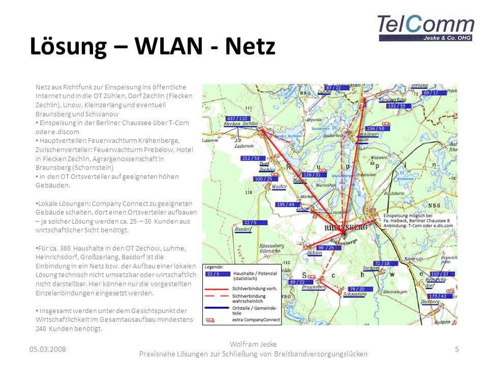 Praxisnahe Lösungen zur Schließung von Breitbandversorgungslücken