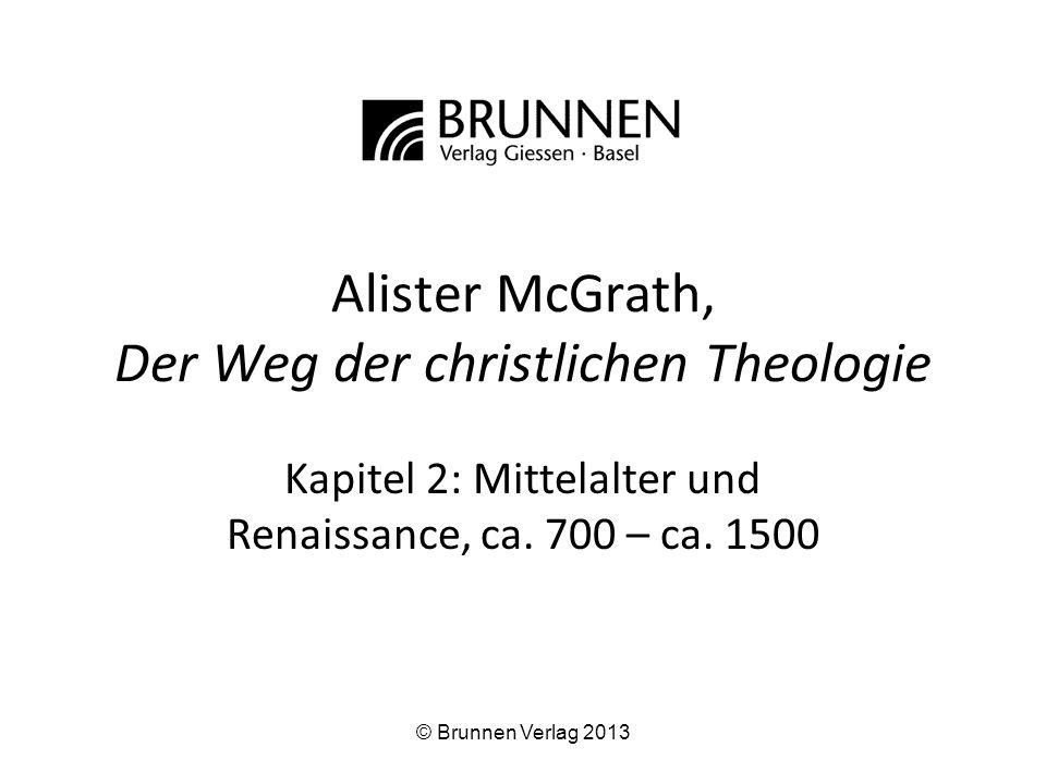 Alister McGrath, Der Weg der christlichen Theologie