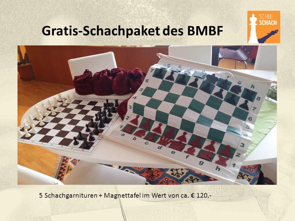 Gratis-Schachpaket des BMBF
