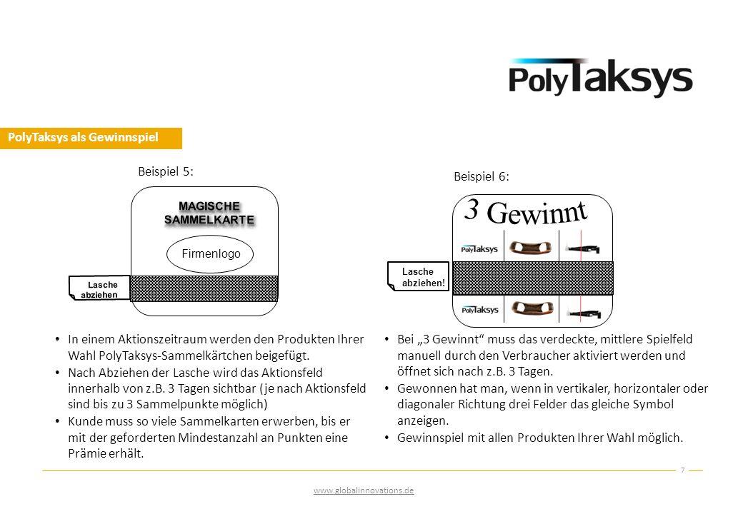 PolyTaksys als Gewinnspiel
