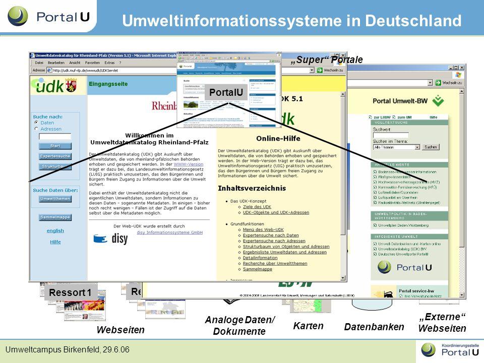 Umweltinformationssysteme in Deutschland
