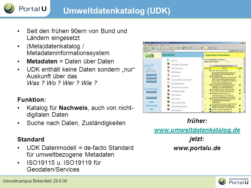 Umweltdatenkatalog (UDK)