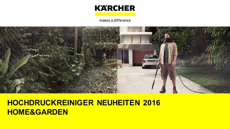 Hochdruckreiniger Neuheiten 2016 Home&garden