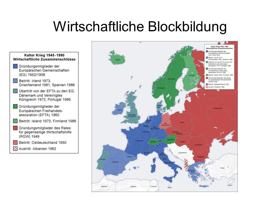Wirtschaftliche Blockbildung