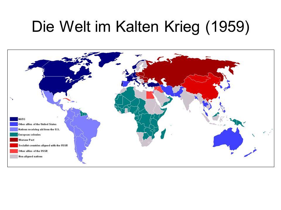 Die Welt im Kalten Krieg (1959)