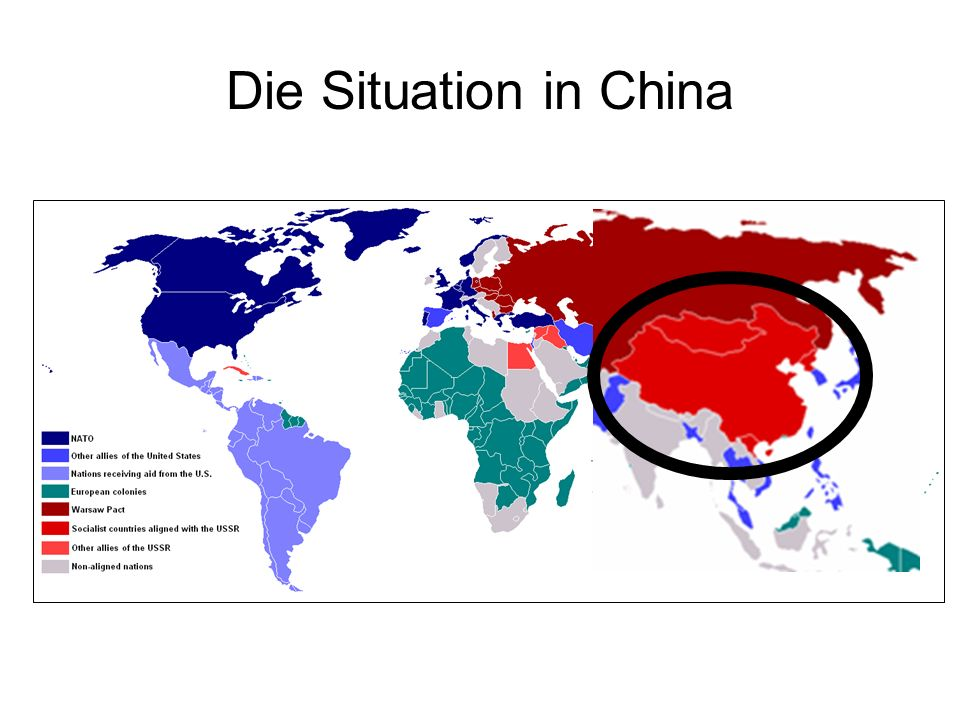 Die Situation in China
