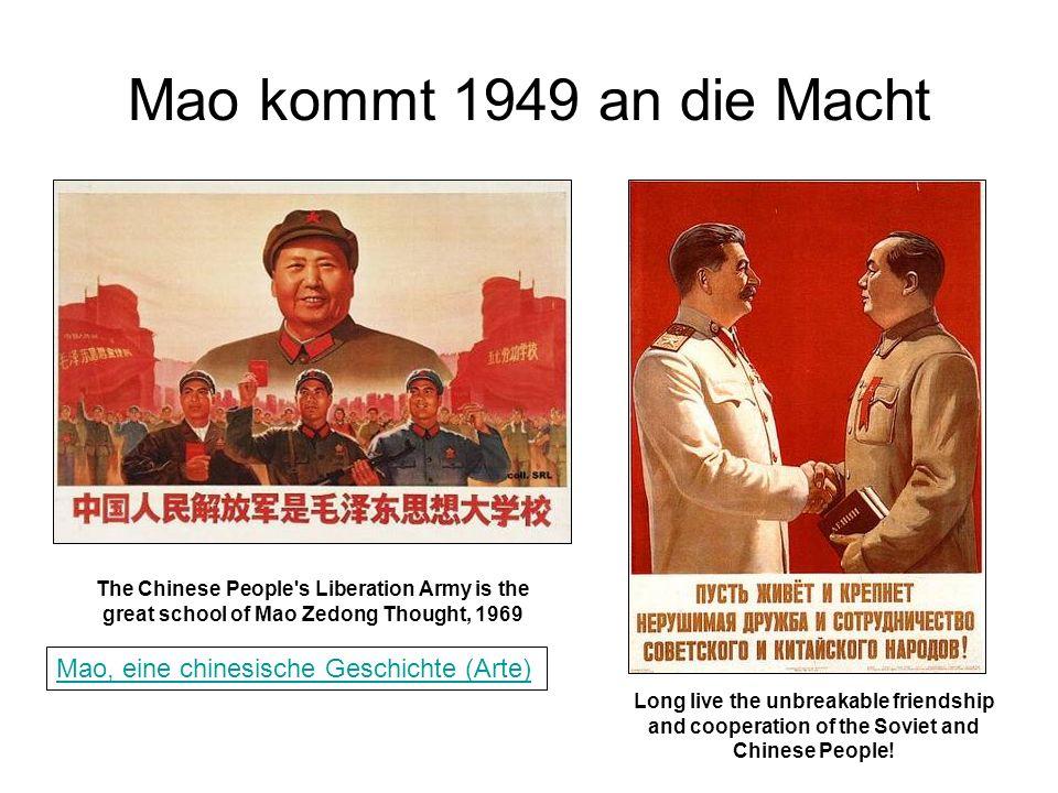 Mao kommt 1949 an die Macht Mao, eine chinesische Geschichte (Arte)