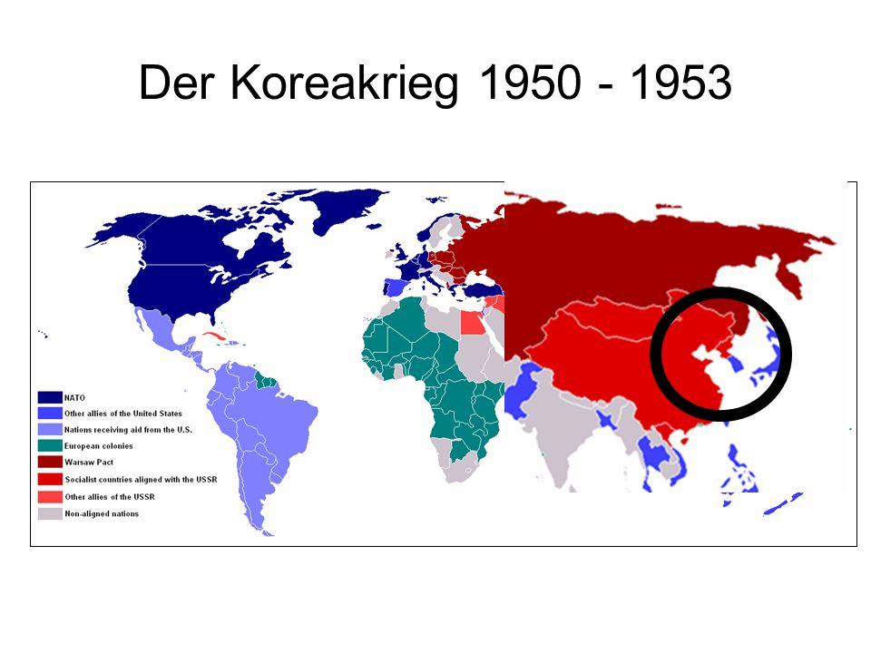 Der Koreakrieg 1950 - 1953