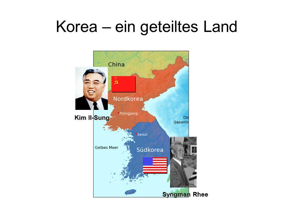 Korea – ein geteiltes Land