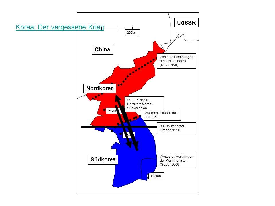Korea: Der vergessene Krieg