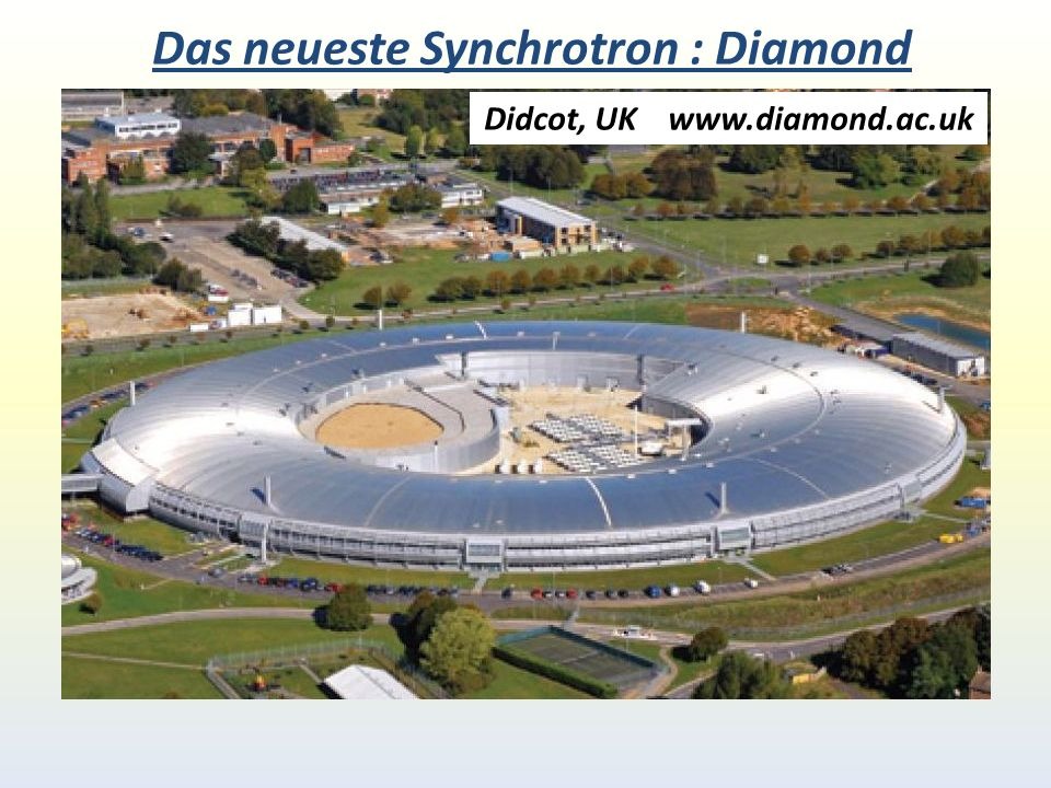 Das neueste Synchrotron : Diamond