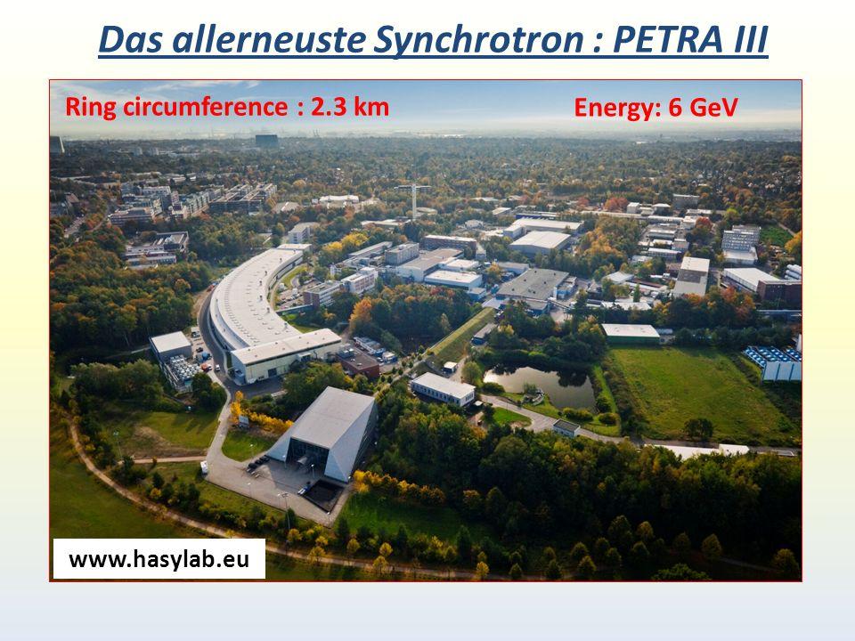Das allerneuste Synchrotron : PETRA III