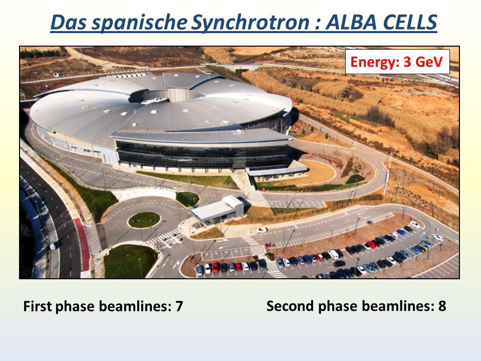 Das spanische Synchrotron : ALBA CELLS